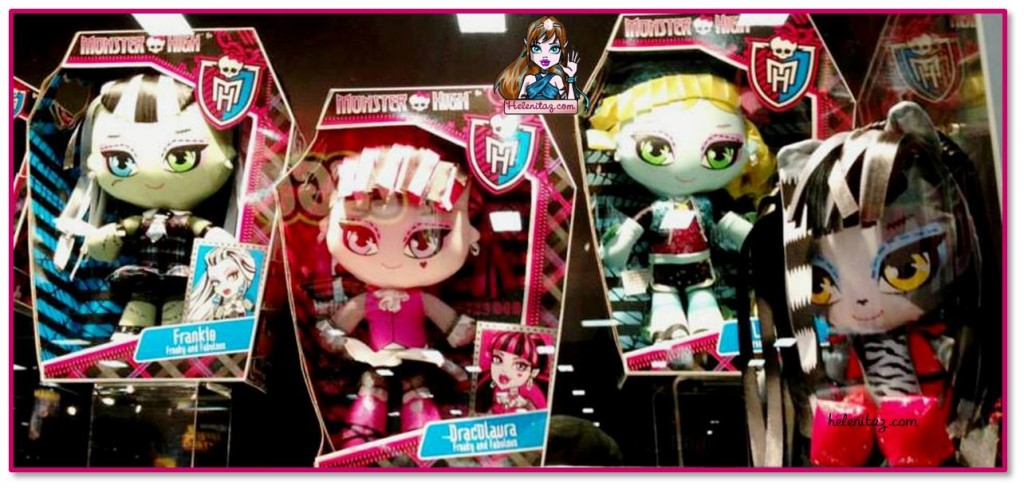 Nuevos peluches Monster High en la SDCC 2013