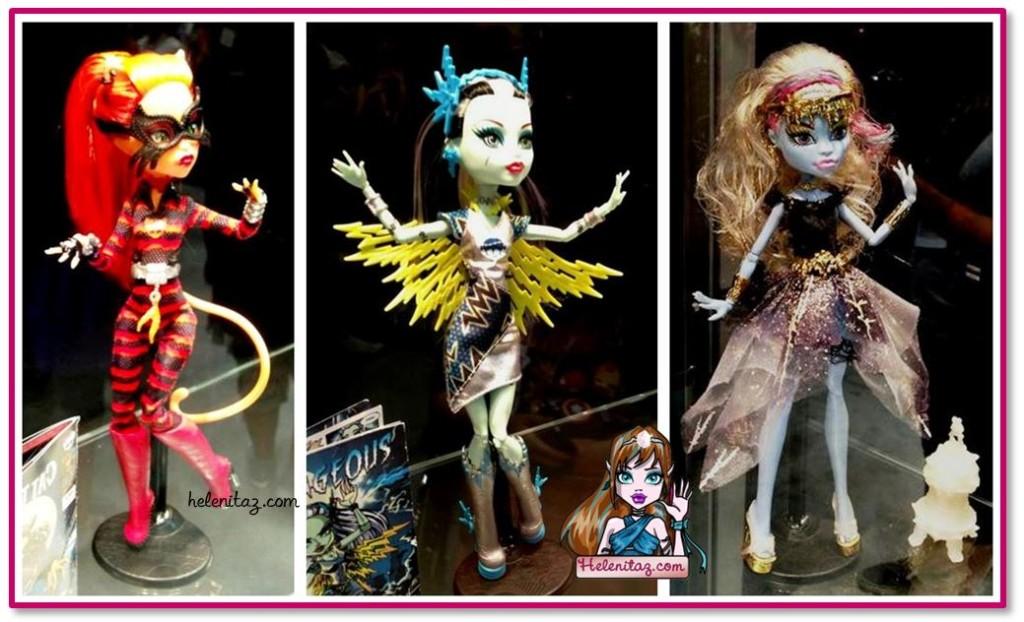 Toralei, Frankie y Abbey en la SDCC 2013
