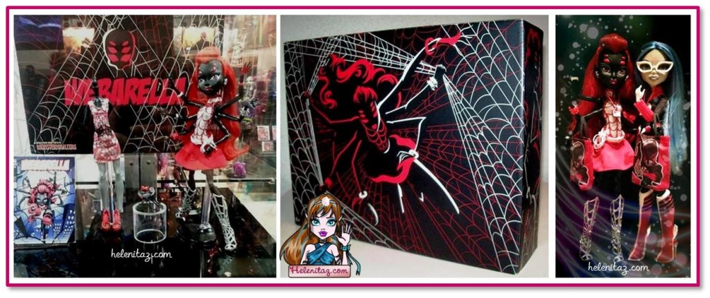 Webarella - Muñeca exclusiva de Monster High y Mattel para la SDCC 2013