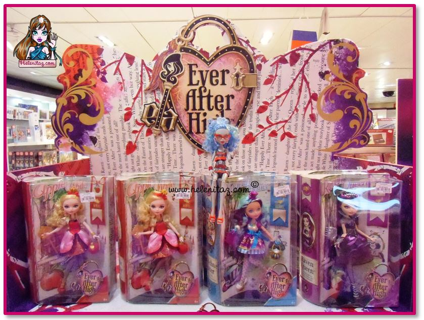Las muñecas Ever After High