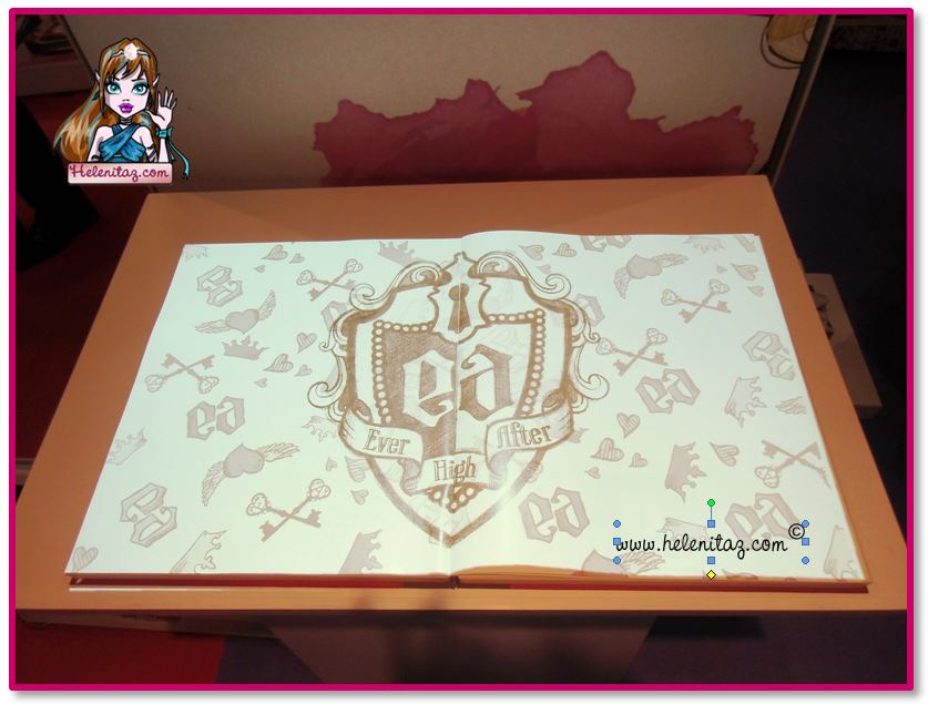 Libro Interactivo Ever After High