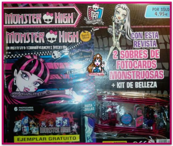 Revista Monster High España - Panini