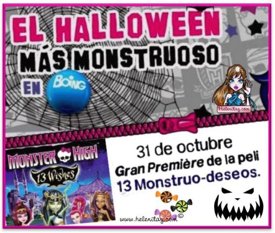 Película Monster High 13 Monstruo-deseos