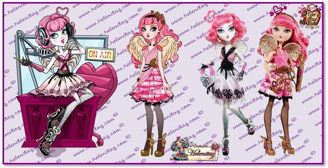 C.A. Cupid Monster High y Ever After High
