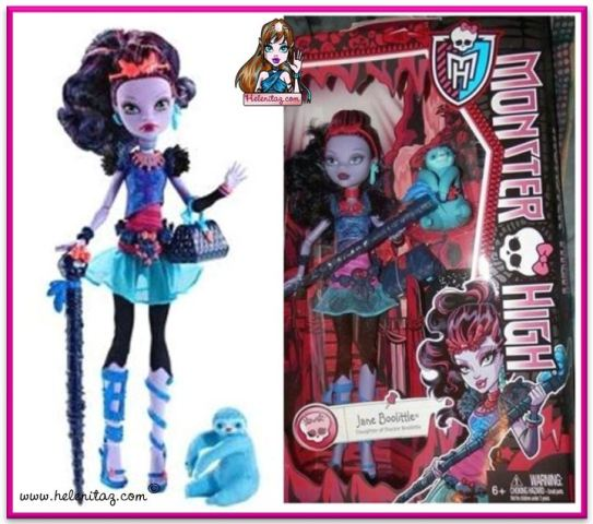 Monster High Jane Boolitle.