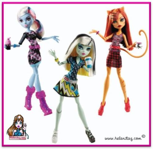 Monster High Coffe Bean