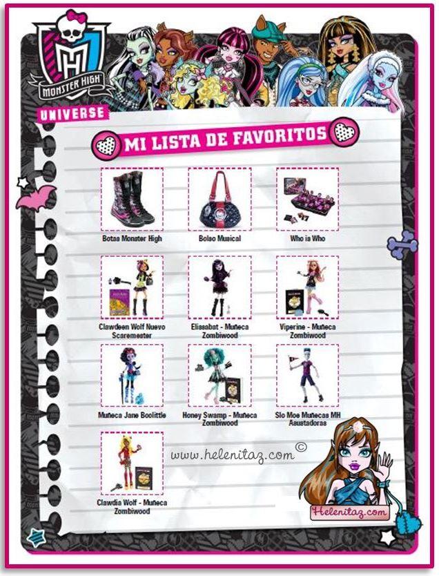 Lista de Deseos de Helenitaz.