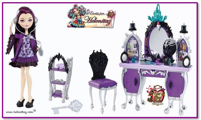 Raven Queen y Play Set