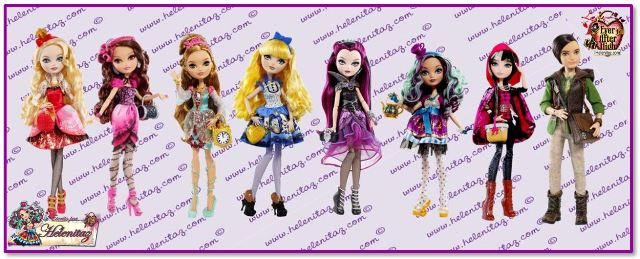 Muñecas Ever After High - Serie 1