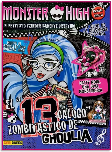 Revista 28 Monster High España