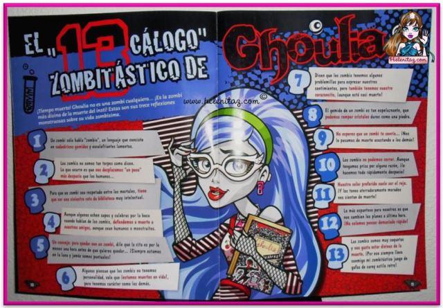 """""""13cálogo zombitástico de Ghoulia"""""""