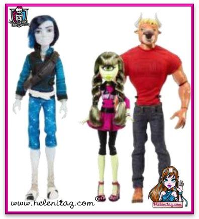 Nuevos personajes básicos de Monster High