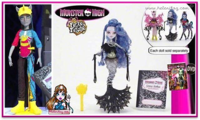 Freaky Fusion Dolls