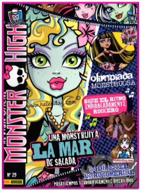 Revista Monster High Nº 29