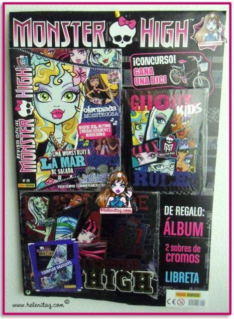 Revista Monster High Nº 29