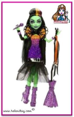 muñeca tipo bruja cantante, nuevo personaje