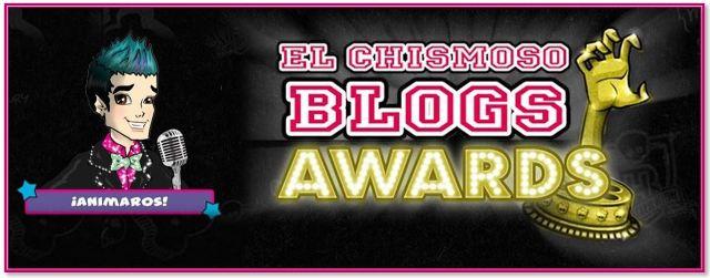 El Chismoso Blogs Awards