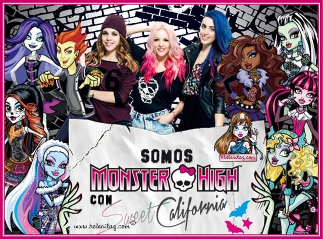Somos Monster High por Sweet California