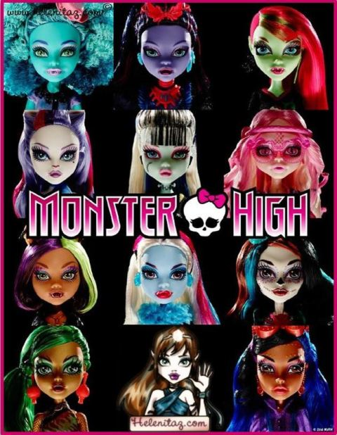 Back to school Monster High 2014