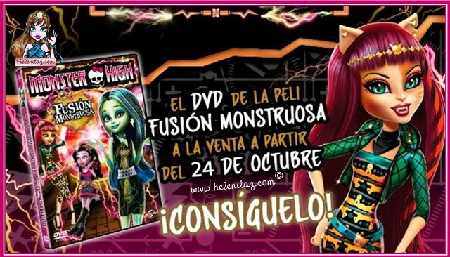 DVD Fusión Monstruosa