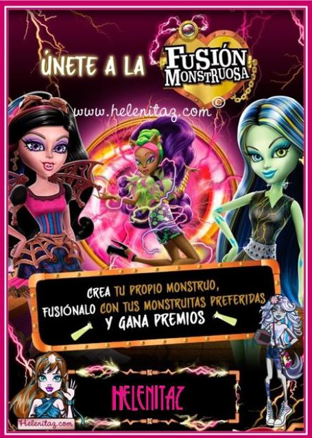 Participación de Helenitaz en Monster High Universe