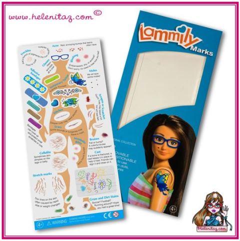 Marcas para Lammily