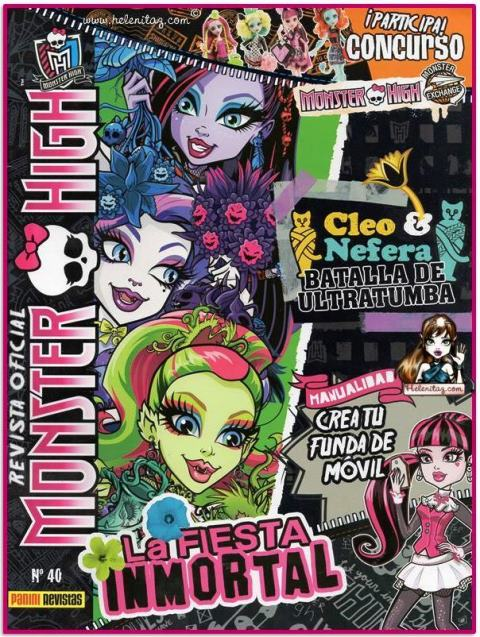 Revista 40 Monster High España