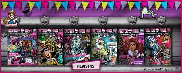 Revistas atrasadas de Monster High