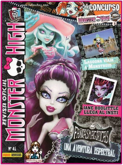 Revista 41 Monster High España