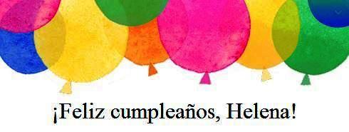 Feliz Cumpleaños Helena by Facebook
