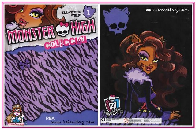 Clawdeen Wolf - Monster Book 1