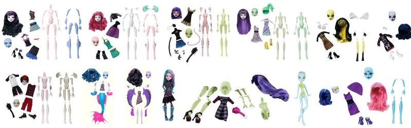 Create a Monster de Monster High