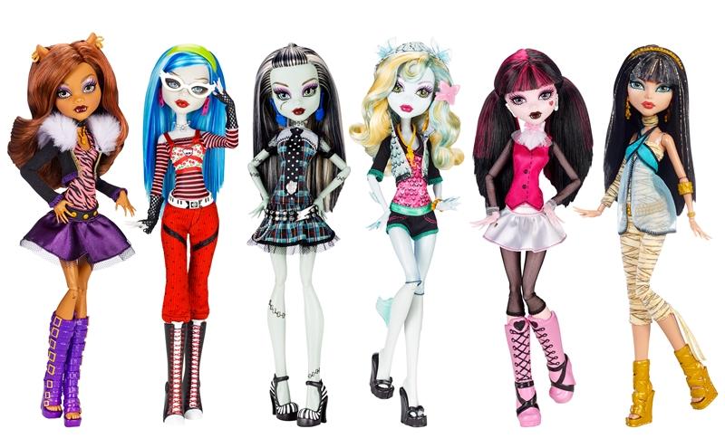 Primeras Muñecas Monster High - Año 2010