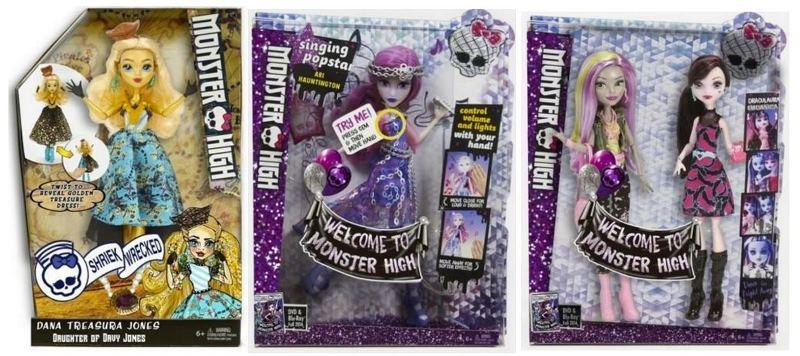 Muñecas Monster High pendientes de salir