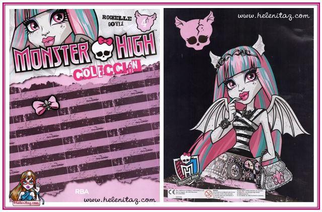 Rochelle Goyle - Monster Book 4