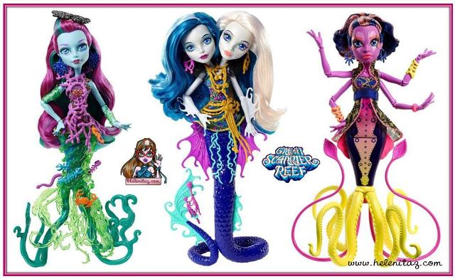 Nuevos personajes Monster High